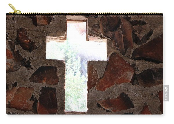 Cross Shaped Window In Chapel  Carry-all Pouch