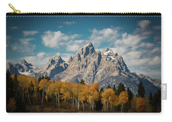 Crown For Tetons Carry-all Pouch