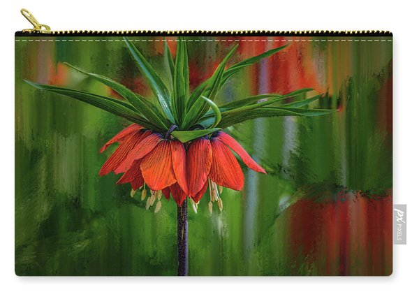 Crown-imperial Abstract #h5 Carry-all Pouch