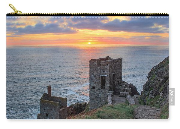 Crown Mines At Botallack  Carry-all Pouch