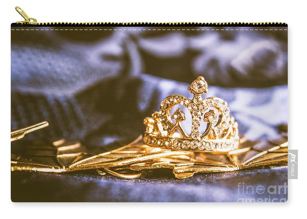 Crowned Tiara Jewellery Carry-all Pouch