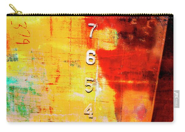 Crows By The Numbers Mixed Media Carry-all Pouch