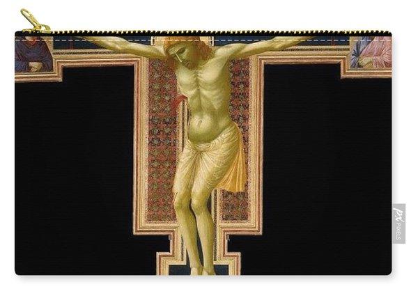 Crucifix Giotto Di Bondone Carry-all Pouch