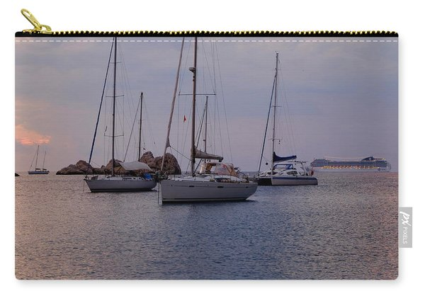 Cruise Liner Passing Carry-all Pouch