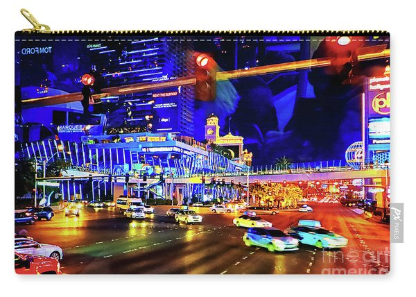 Cruising On The Strip Carry-all Pouch