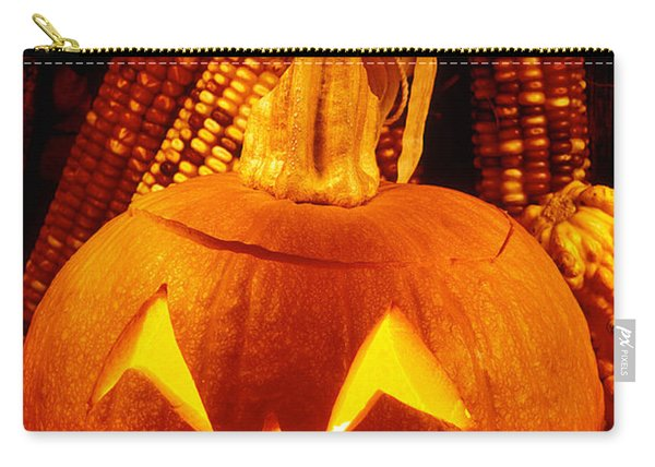 Crying Pumpkin Carry-all Pouch