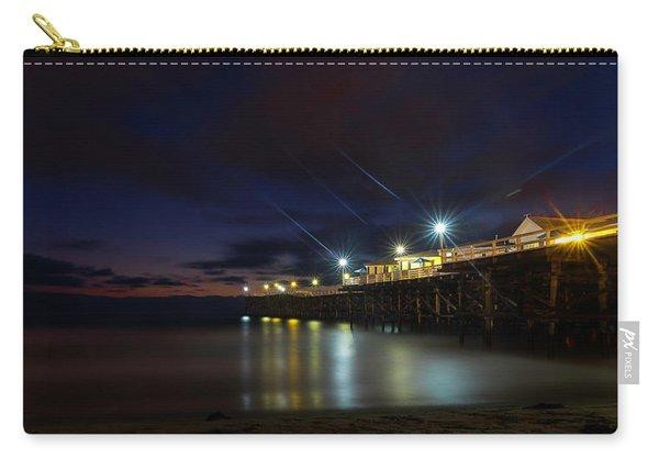 Crystal Beach Pier Blue Hour  Carry-all Pouch