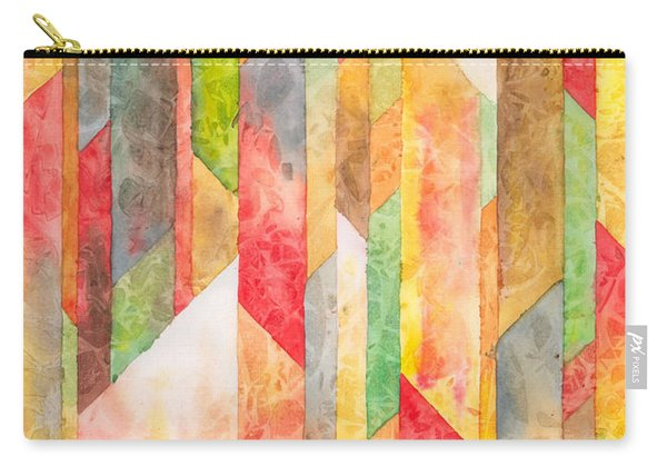 Crystal Colors Watercolor Carry-all Pouch