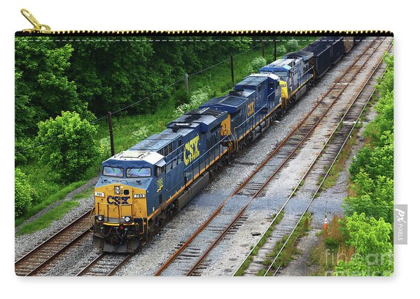 Csx Diesels At Brunswick Maryland Carry-all Pouch