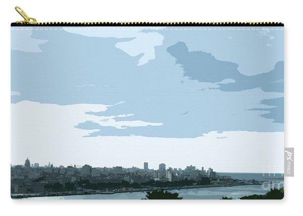 Cuba City And Skyline Art Ed2 Carry-all Pouch