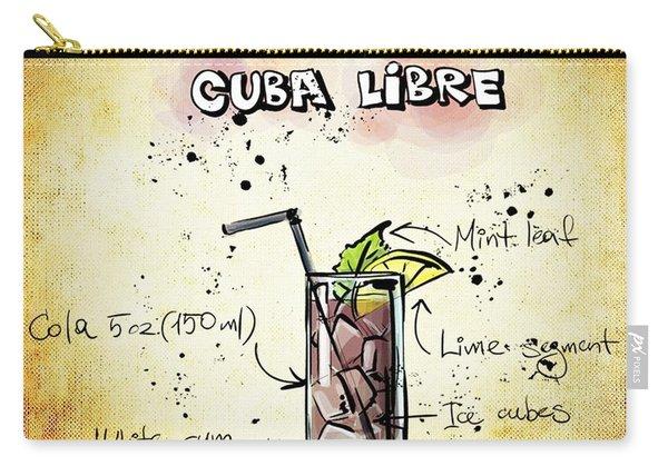 Cuba Libre Carry-all Pouch