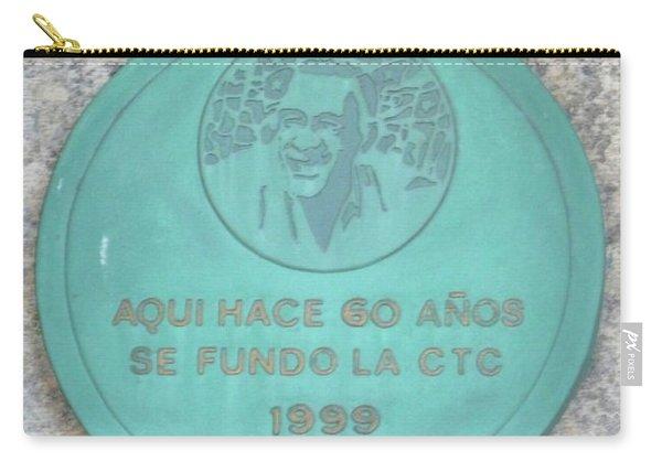 Cuba Plaque 1999 Carry-all Pouch