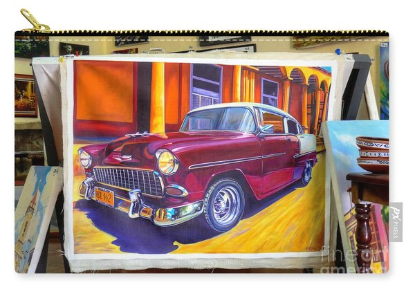 Cuban Art Cars Carry-all Pouch