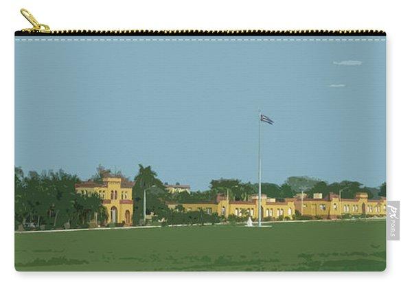 Cuban Estate Print Carry-all Pouch