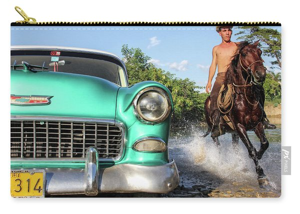 Cuban Horsepower Carry-all Pouch