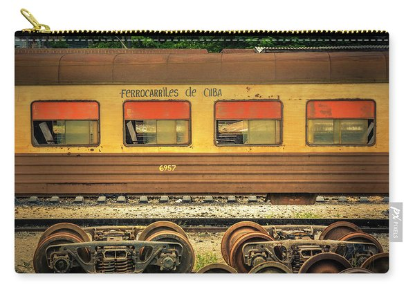 Cuban Train Carry-all Pouch