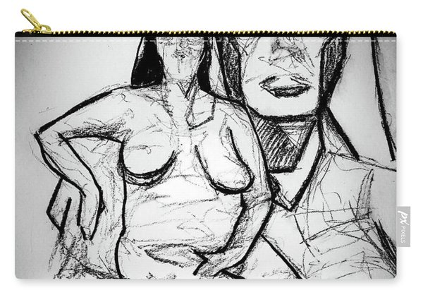 Cubism Study 4626 Carry-all Pouch