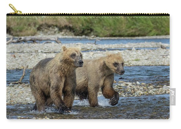 Cubs On The Prowl Carry-all Pouch