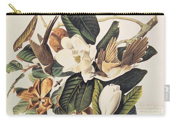 Cuckoo On Magnolia Grandiflora Carry-all Pouch
