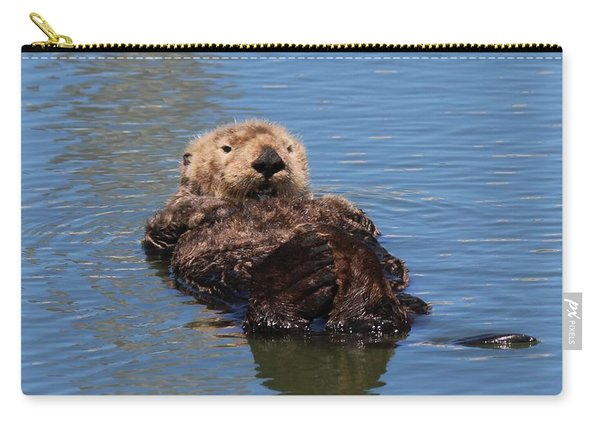 Carry-all Pouch featuring the photograph Cuddle Bunches  by Christy Pooschke