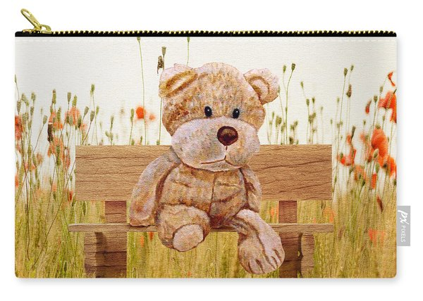 Cuddly In The Garden Carry-all Pouch