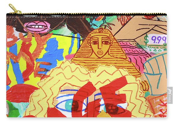 Culture Vultures Carry-all Pouch
