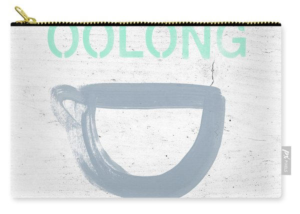 Cup Of Oolong Tea- Art By Linda Woods Carry-all Pouch