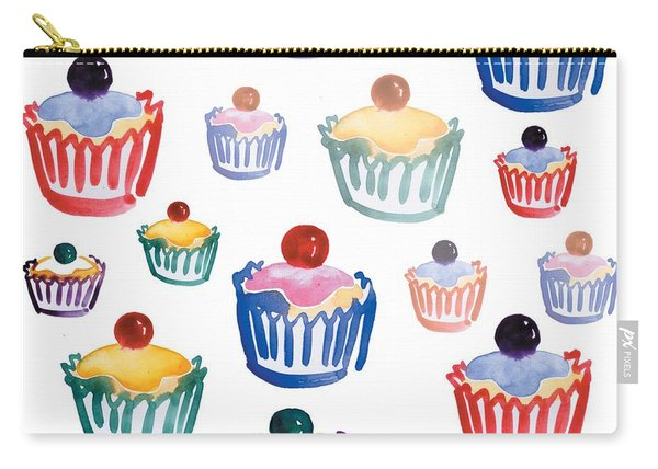 Cupcake Crazy Carry-all Pouch