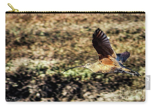 Curlew In Flight Carry-all Pouch