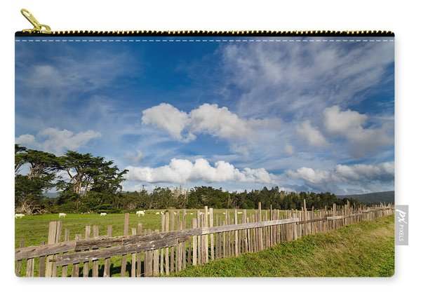 Curly Lane Cattle Fence Carry-all Pouch