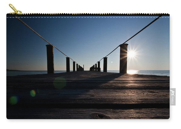 Currituck Sunset Carry-all Pouch