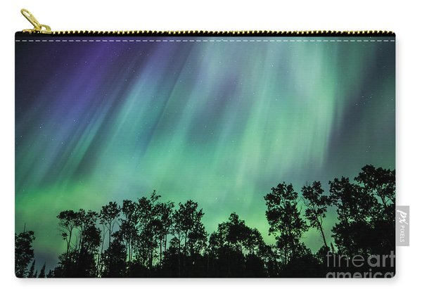Curtain Of Lights Carry-all Pouch
