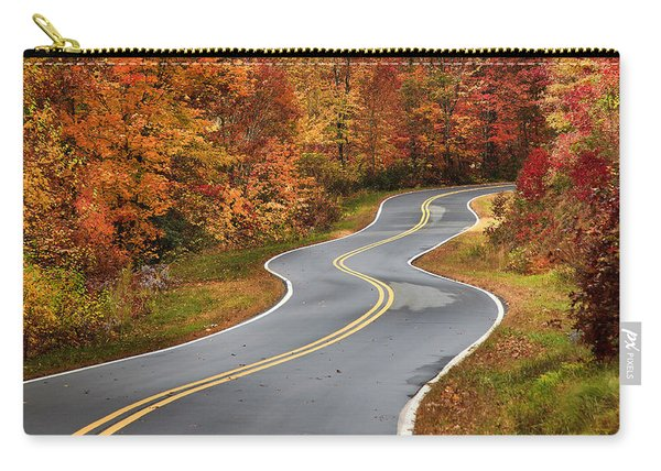 Curvy Road In The Mountains Carry-all Pouch