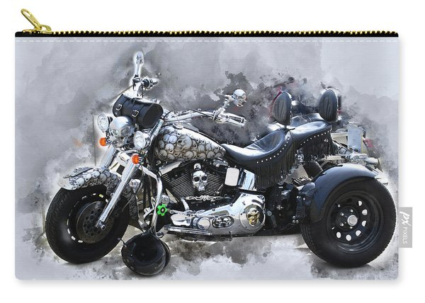 Customized Harley Davidson Carry-all Pouch