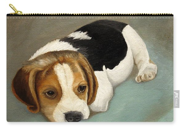 Cute Beagle Carry-all Pouch