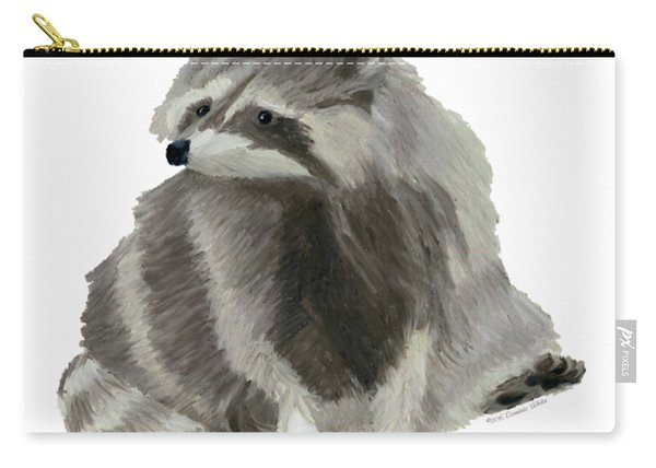 Cute Raccoon Carry-all Pouch