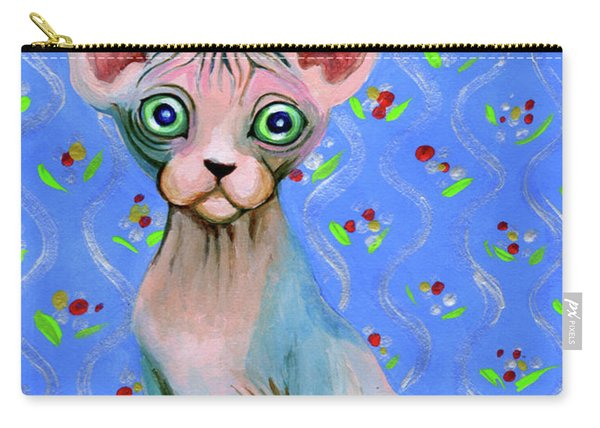 Cute Sphynx Carry-all Pouch