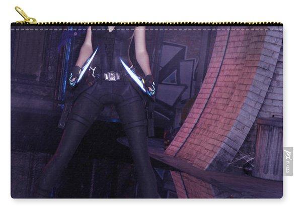 Cyberpunk Assassin Carry-all Pouch
