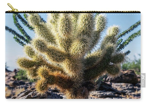Cylindropuntia Bigelovii Carry-all Pouch