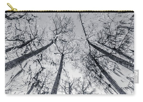 Cypress Abstract Carry-all Pouch