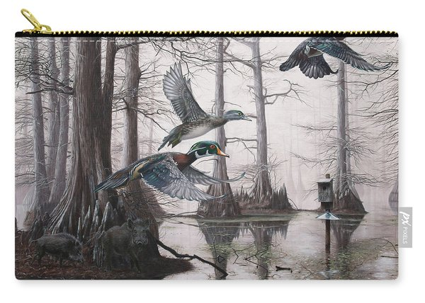 Cypress Bayou Neighbors Carry-all Pouch