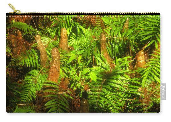Cypress Knees In Ferns Carry-all Pouch