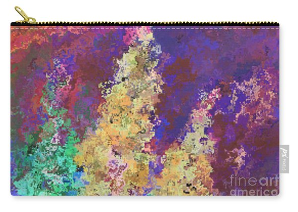 Dabble Flowers Carry-all Pouch