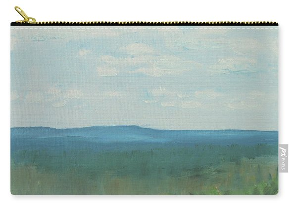 Dagrar Over Salenfjallen- Shifting Daylight Over Distant Horizon 3 Of 10_0029 50x40 Cm Carry-all Pouch