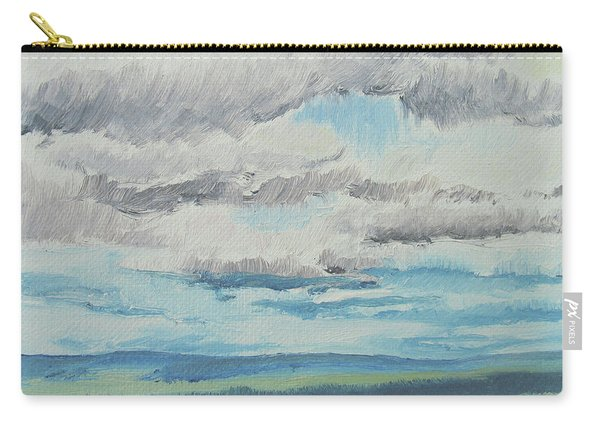 Dagrar Over Salenfjallen- Shifting Daylight Over Distant Horizon 8 Of 10_0029 Carry-all Pouch