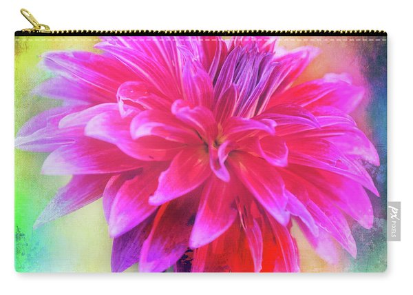 Dahlia Abstract Carry-all Pouch