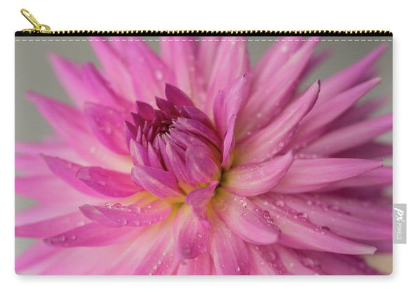 Dahlia After The Rain Carry-all Pouch
