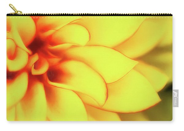 Dahlia Flower Abstract Carry-all Pouch