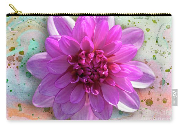 Dahlia Flower Series One Carry-all Pouch