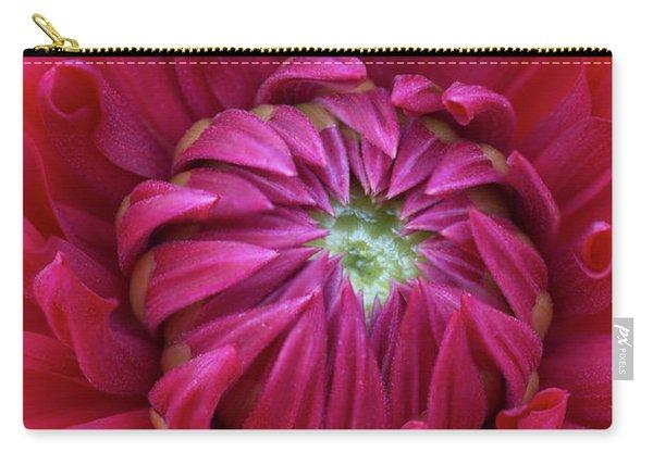 Dahlia Heart Carry-all Pouch